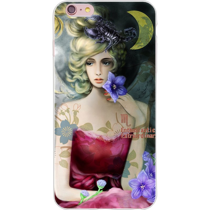 "New Year Series: florid [Constellation - Scorpio - Yi Dai Xuan -TPU phone case ""iPhone / Samsung / HTC / LG / Sony / millet"""