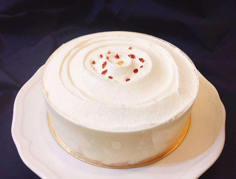 北海道雙層起士蛋糕6吋#雙重起士#多層次口感#北海道奶油乳酪
