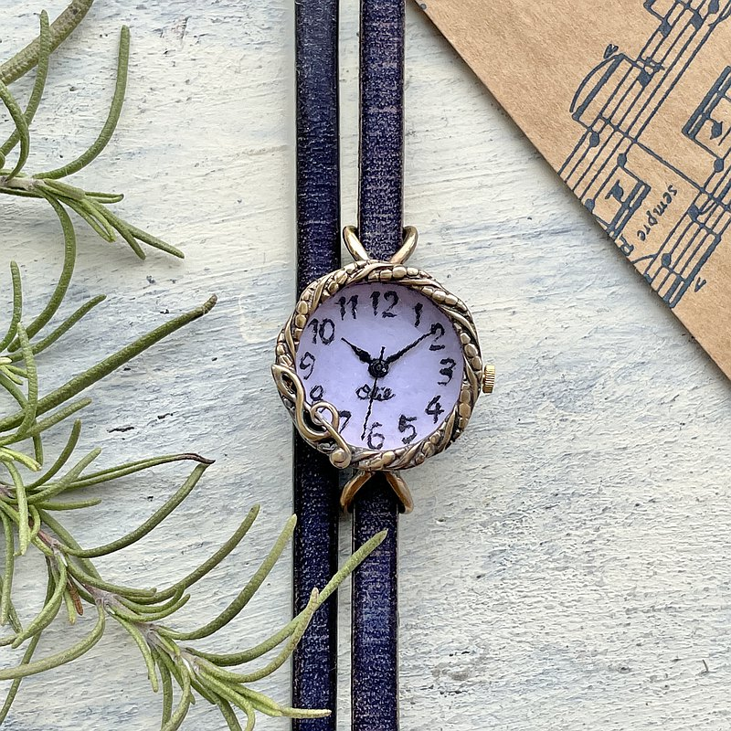 Music Life watch SS lavender