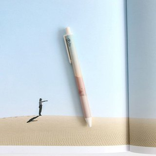 ICONIC 叩叩 Fun 0.38 Ball Pen-02 Desert, ICO51890