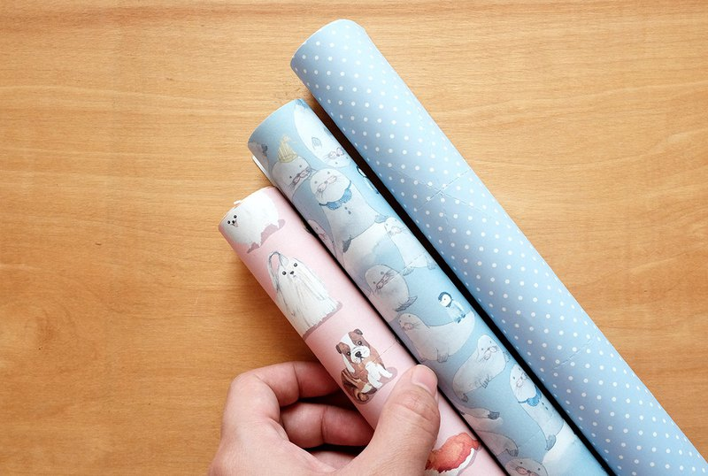 Reusable Wrapping papers (Collection 10) : Set of 3