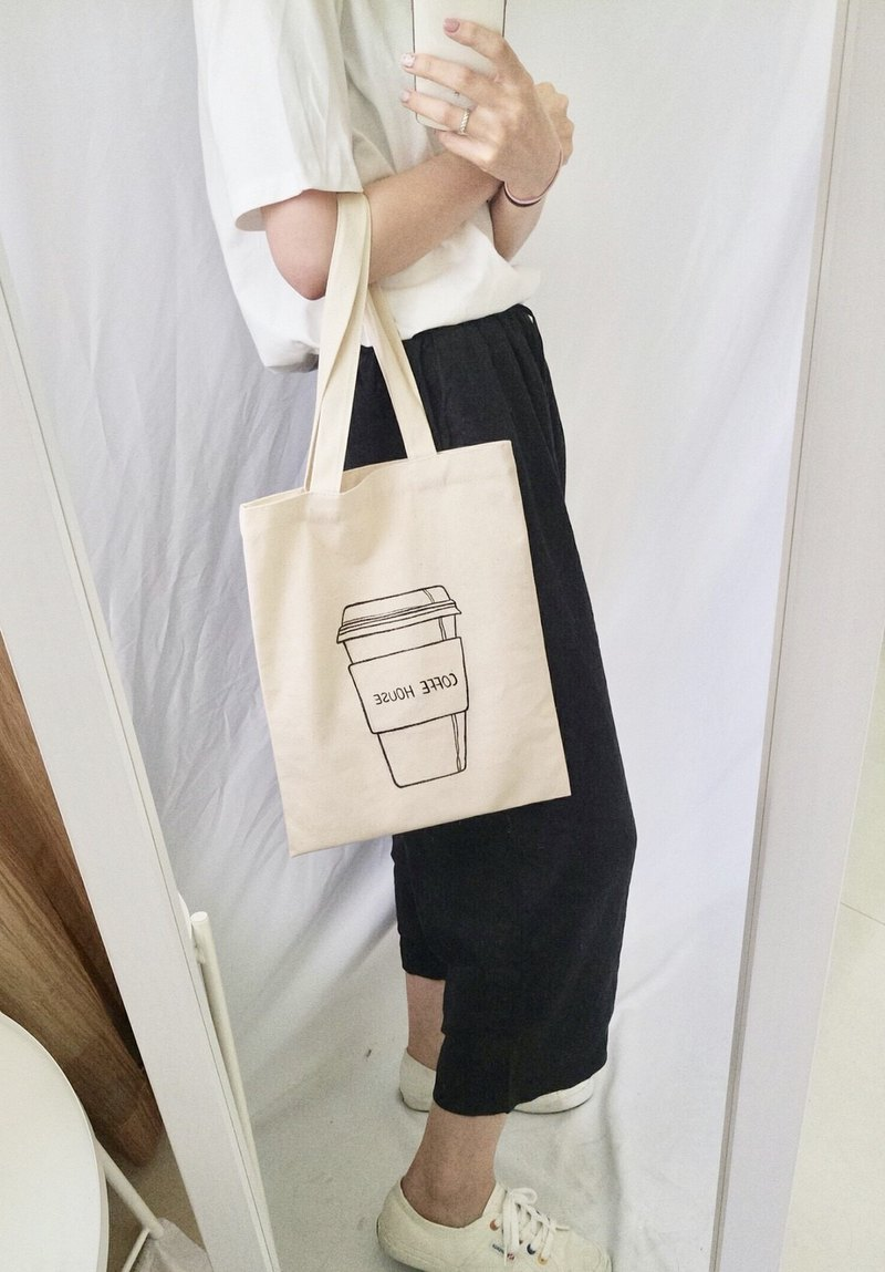 hand-drawn bag(coffe)