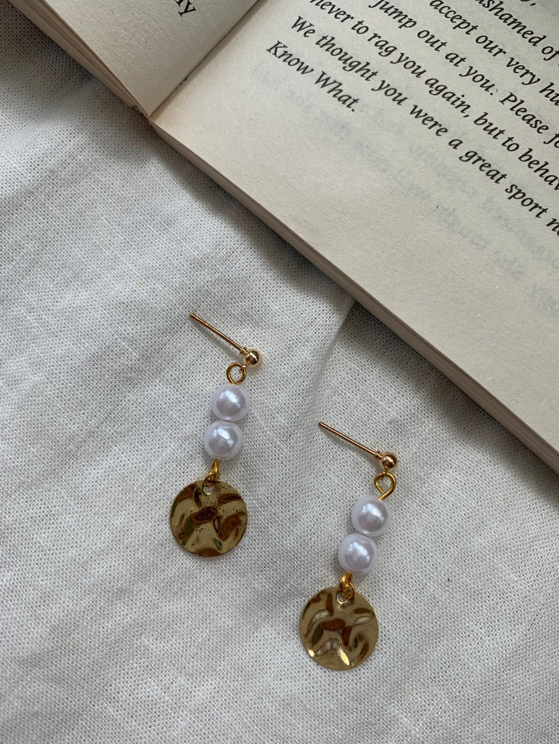厮守 | Pearl Earrings Ear Clip