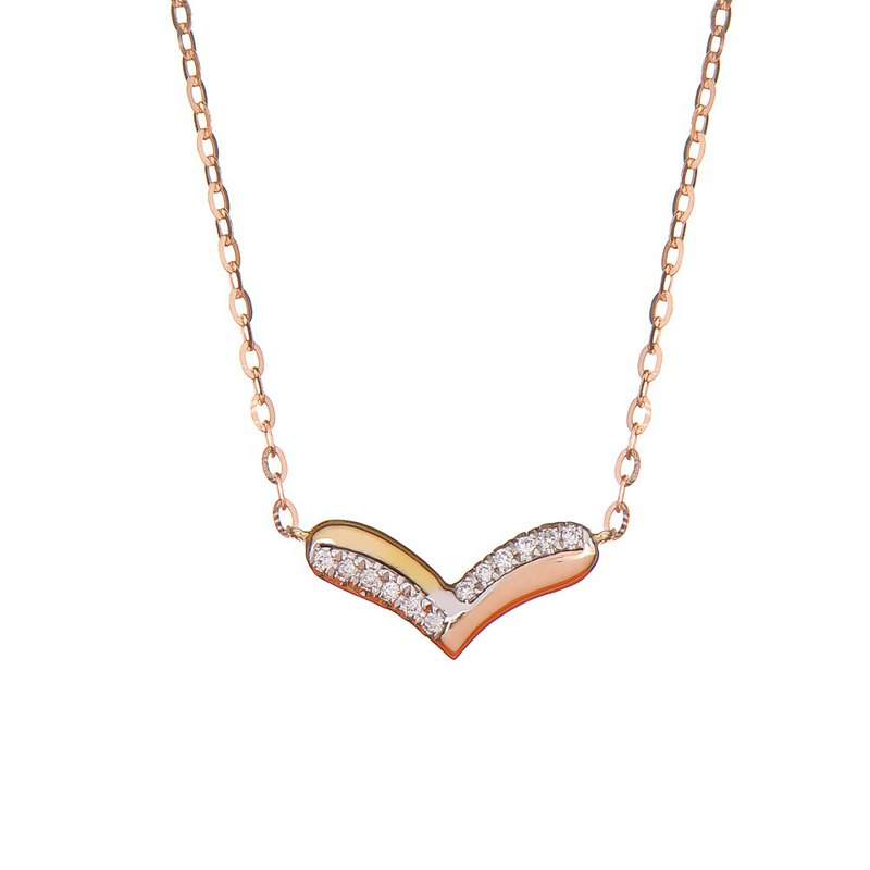 Happy Heart Diamond Pendant