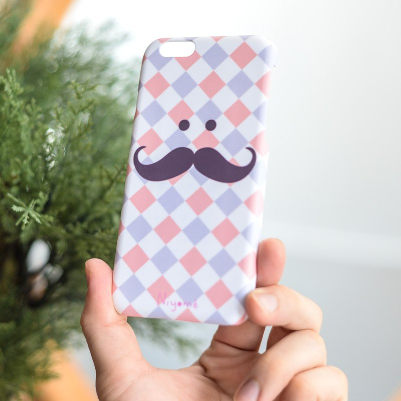 The Mustache iphone case for iphone5s, 6s, 6s plus, 7, 7+, 8, 8+, iphone x
