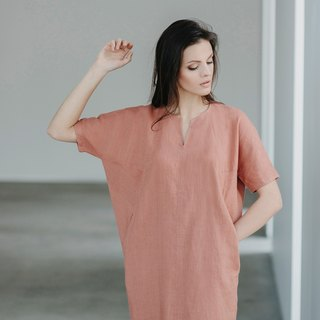 Linen dress Motumo 15S1