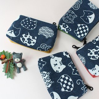 Cat / purse / small pouch / pouch / meow / neko