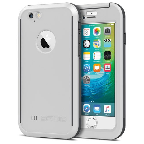 Waterproof Case / Case for iPhone 6 / 6s - Minimalist White - OBEX Series