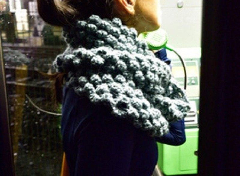 Big Cowl 100% wool