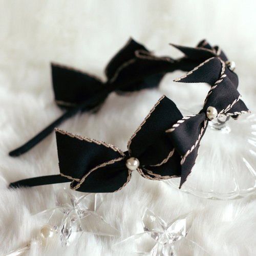 Charming Ribbon Decoration Headband
