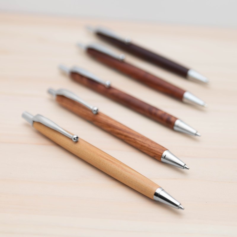 Solid wood mechanical pencil | Classic style · Laser engraving