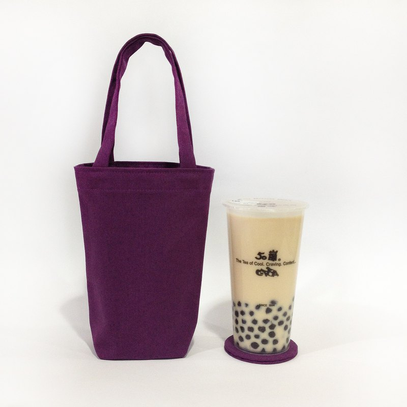 Beverage bag with coaster / Violet Mother's Day special price limit