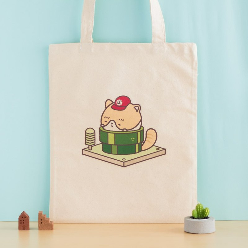 Ahou ji rou - MY SAFE AREA | A4 size canvas bag | tote bag