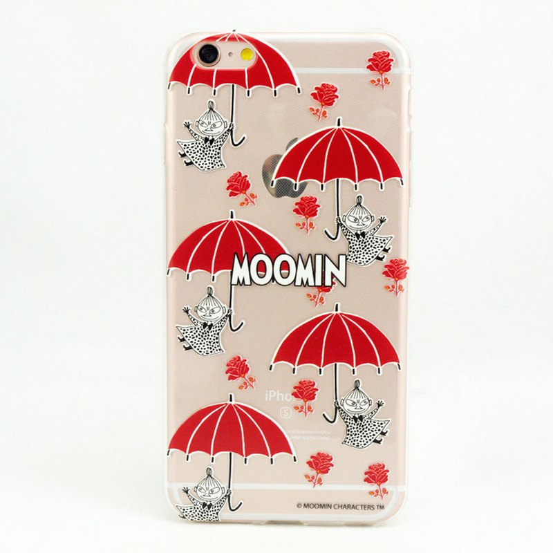 Moomin 噜噜 米 authorized-TPU mobile phone case [Little Red Umbrella]