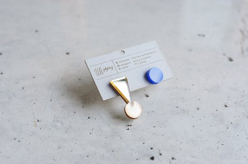 PIN! Pierce / GOLD × BLUE
