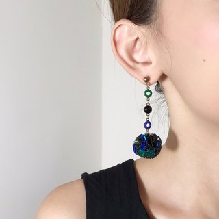 Merilokyuen | EARTH // Vintage Green // Earrings