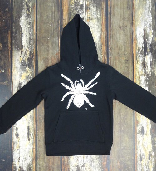 蜘蛛 spider Tarantula Kids Foodie Black