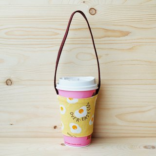 Delicious Poached Egg Beverage Bag_Yellow/Cup Set