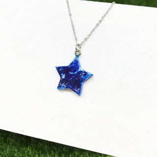 [Deep Sea]-Five Star Necklace