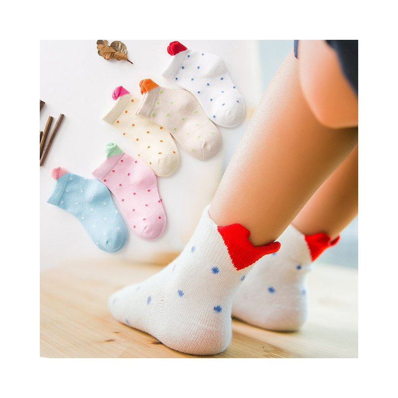Children's cotton socks (3 pairs / 1 group)