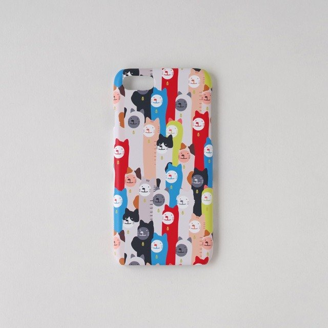 ruru cat's - iPhone case