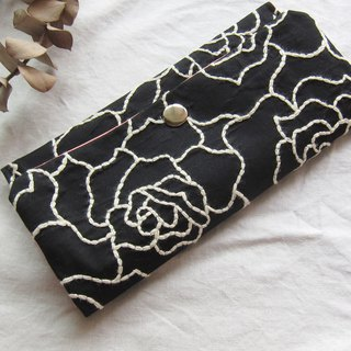 Embroidered  Lace Wallet