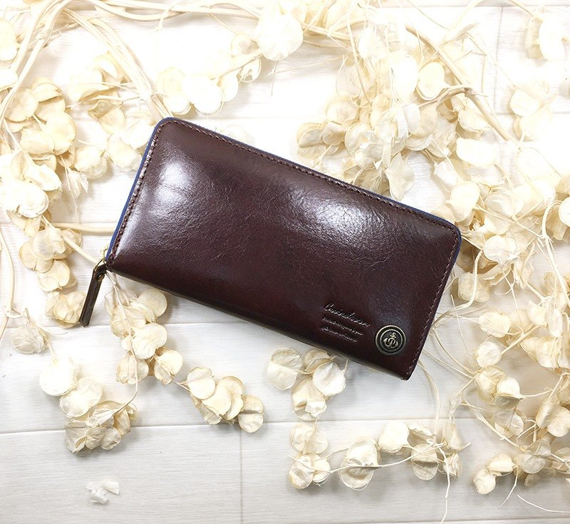 159BR 長財布 イタリアレザー 革 Long wallet / Italian leather / leather / flap / cool / stylish 錢包/意大利皮革/皮革/翻蓋/冷/時尚