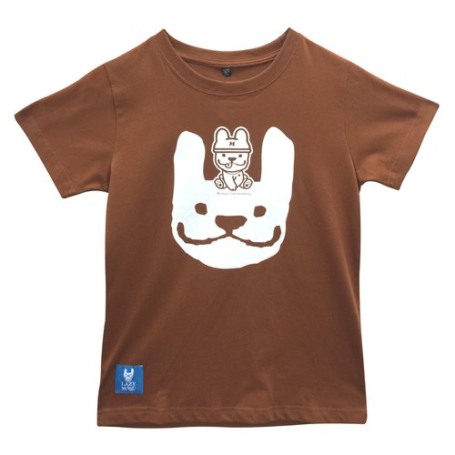 LM001581-MARU Naughty Short T-shirt (coffee) Couples