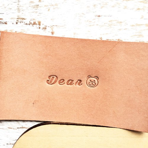 2017 handwritten grass pattern and hand-written grass even digital embossing set (wooden box gift box 2 assembly) letter mold art-pressed leather letter stamping personalized leather DIY engraved tool