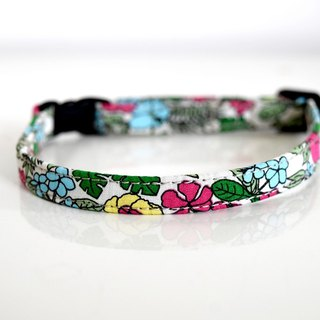 Tropical  Adjutable Breakaway Safety Cat Collar