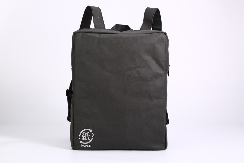 Paper bamboo often ARTZOO backpack (black)