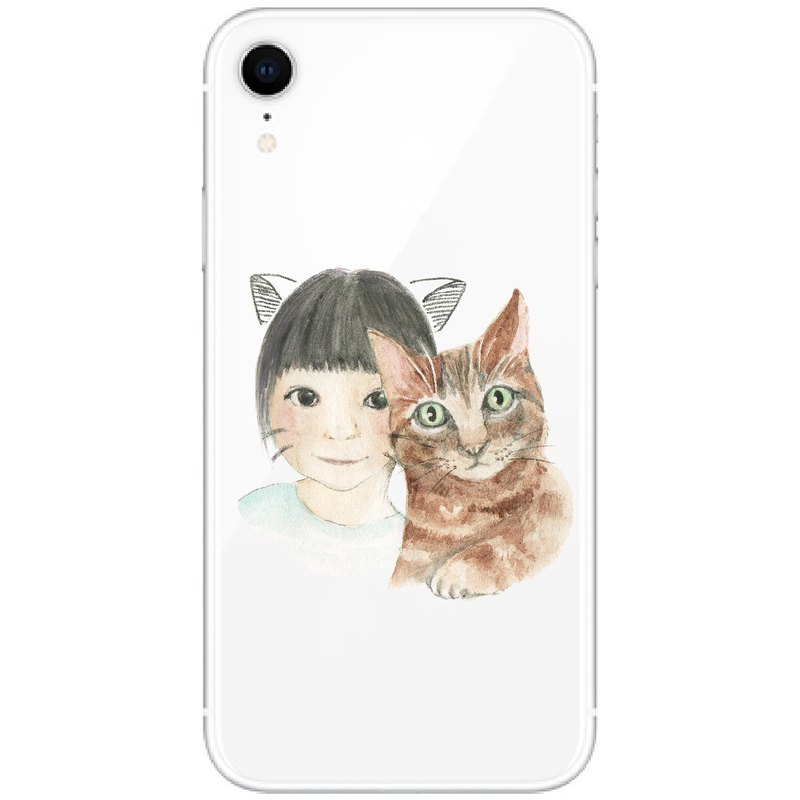 | Customized illustrations | Like Yan painted couple pets watercolor hand-painted customization | Anti-drop mobile phone case