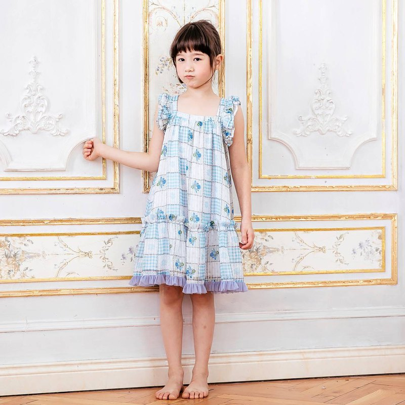 (Children's Wear) Blueberry Cotton Tower (Pre-ordered goods-4/16 shipment)