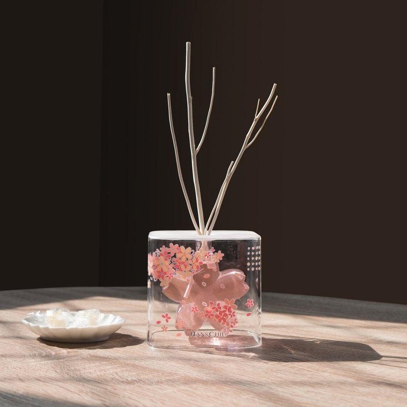 京都櫻茶/ 櫻花玻璃擴香組