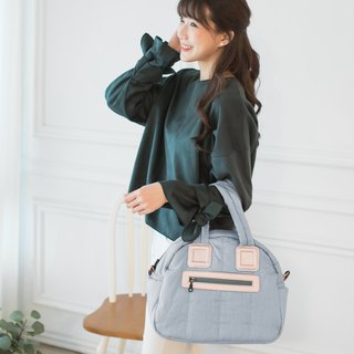 【Full bao】 apple bag - quiet tannin blue