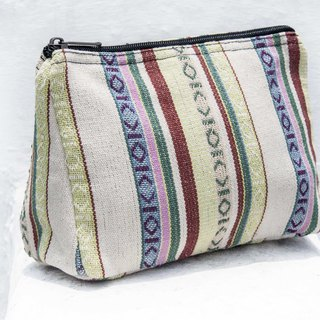 Chinese Valentine's Day gift hand-woven storage bag national wind bag cosmetic bag phone bag clutch - Morocco