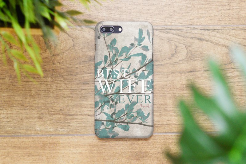 51-5 best wife ever iphone caseสำหรับ iphone 6,7,8 plus iphone xs, iphone xs max