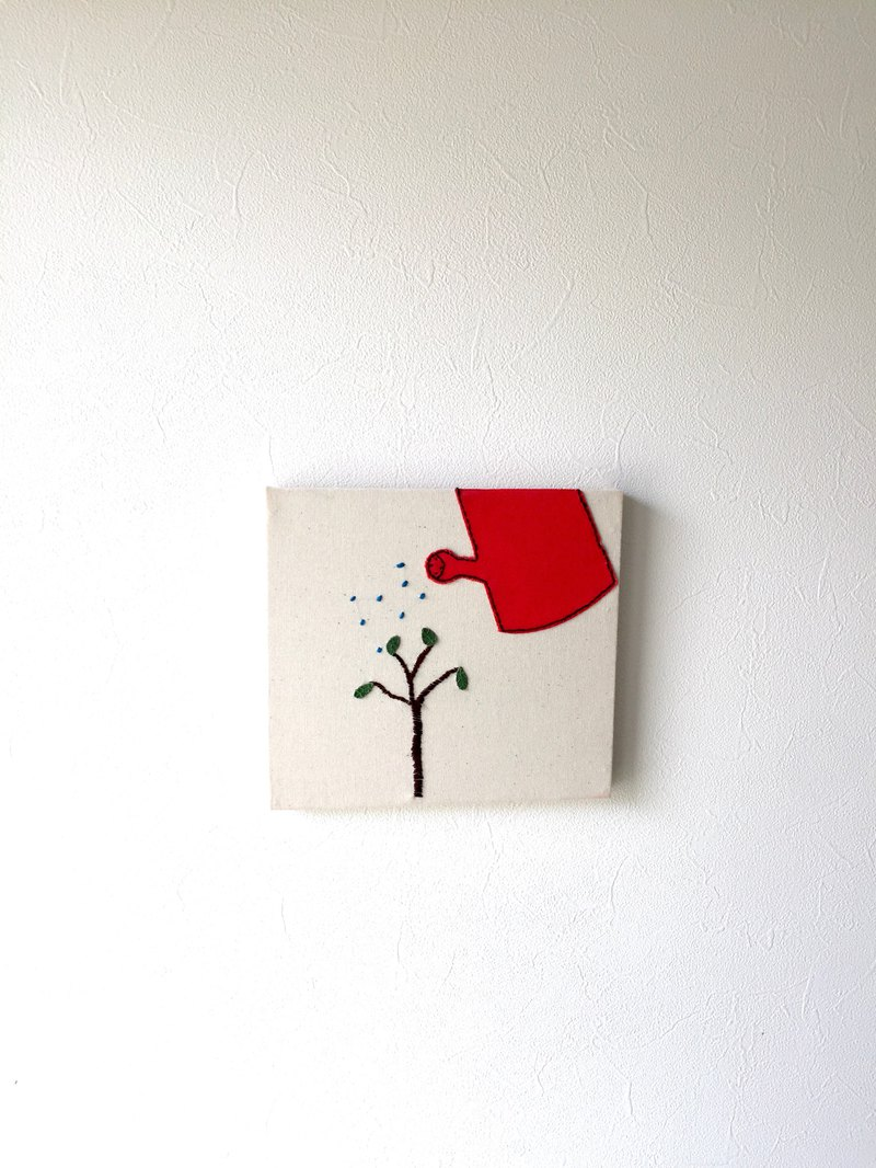 Fabric panel Small tree
