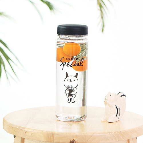 啰Jenny 500ml Ecozen environmental water bottle 02. Qiqi