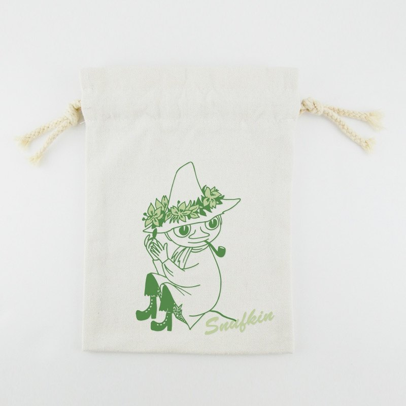 Moomin 噜噜 米 Authorization-Beam Pocket (Small) [Snufkin]