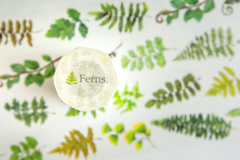 Ferns - OURS Original Washi Masking Tape