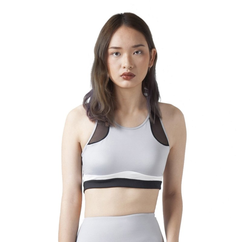 Focus Bra in light grey
