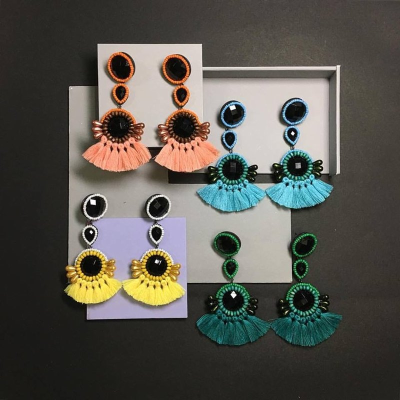 earrings : donut no.03