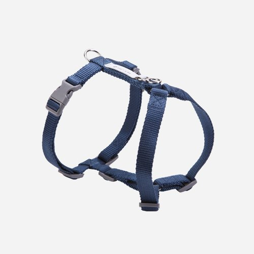 [tail and I] classic nylon belt chest strap dark blue L