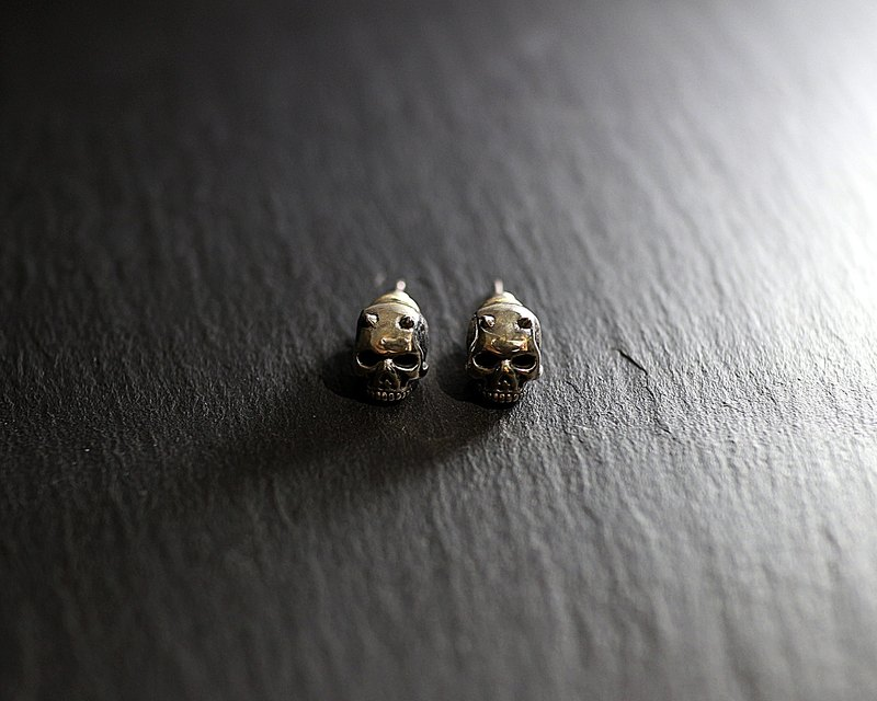 Sterling Silver Devil Earrings