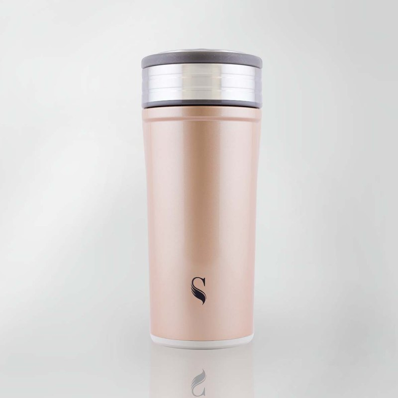 Swanz Porcelain Tumbler Glisten Collection-Rose Quartz