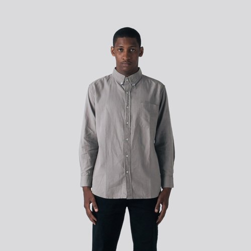 Classic Rainforest Linen Shirt