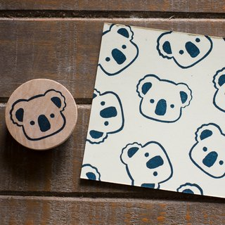 Friends of the forest series of small Koala engraved seal engraved rubber stamp