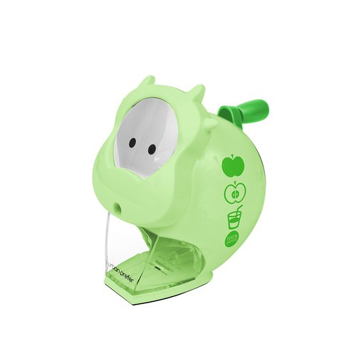 MOO calf pencil sharpener green apple