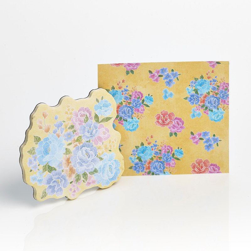 [Mr. Flower Cloth] Magnet Sticker - Yellow